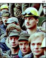 Gdansk shipyard workers