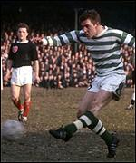 Bobby Murdoch: his shot led to famous winner