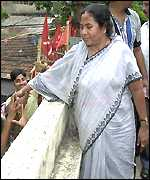 Trinamool Congress chief Mamata Bannerjee