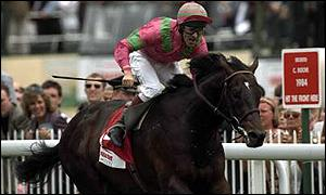 Shaamit, owned by Khaliga Dasmal, and jockey Michael Hills rode to success in 1996