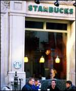 Starbucks shop front BBC