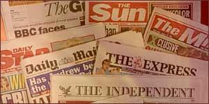Giornali UK
