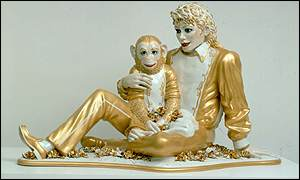 Jeff Koons' Michael Jackson and Bubbles