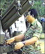 Tamil Tiger leader