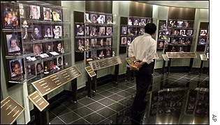 Oklahoma's National Memorial Museum: photos of victims