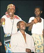 The Amakhosi Theatre Group from Bulawayo