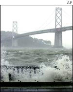 Storm at Golden Gate AP