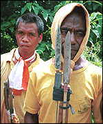 Militiamen from East Timor