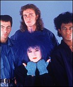 Fry toured with Culture Club