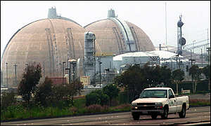 Nuclear power station at San Onofre, CA