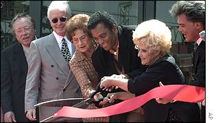 (L-R:) Earl Scruggs, Bruce Hinton, Kitty Wells, Charley Pride, Brenda Lee and Marty Stuart