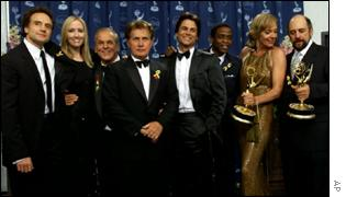 Martin Sheen and cast of The West Wing