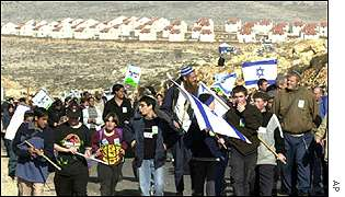 Settlers' march