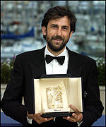 Moretti with the coveted Palme d'Or