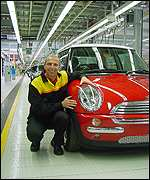 Rainer Bickmann, BMW Group assembly director at the Mini factory in Oxford