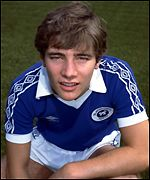McCoist started his career at St Johnstone