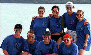 Ular tribe from ITV's Survivor