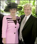 William Roache and wife Sara Mottram