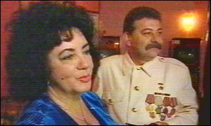 Stalin and ElizabethTaylor attend