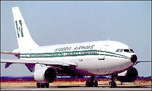 Nigeria Airways A310