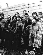 Jewish concentration camp inmates