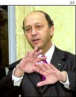 Laurent Fabius, French finance minister