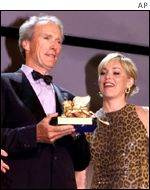 Clint Eastwood and Sharon Stone