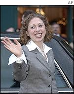 Chelsea Clinton travelled to Enniskillen