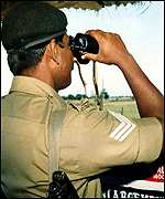 Indian border guard