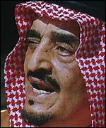 [ image: It is not clear whether King Fahd is au fait with the Internet]