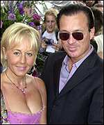 Martin Kemp and Shirley Holliman