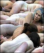Nude Canadians pose for Spencer Tunick