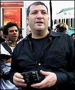 Photographer Spencer Tunick