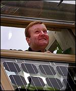 Charles Kennedy visits the Beddington Zero-Energy Site in Hackbridge, Surrey
