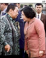 Wahid and Megawati