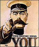 Lord Kitchener First World War poster