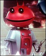 Martian from Cadbury's Smash advert still
