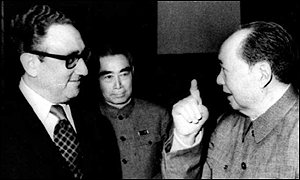 Kissinger y Mao