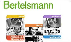 Bertelsmann website