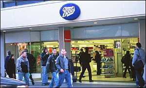 Boots on the high street