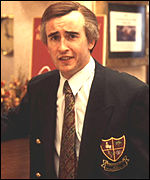 Steve Coogan as BBC comedy character Alan Partridge
