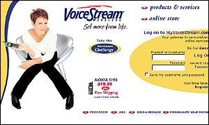 Voicestream website