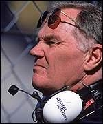 Williams' technical director Patrick Head