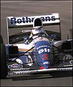 Nigel Mansell in 1994