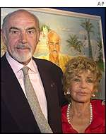 Sean and Micheline Roquebrune Connery