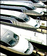 TGV ATLANTIQUE TRAINS