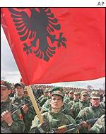 Ethnic Albanian rebels