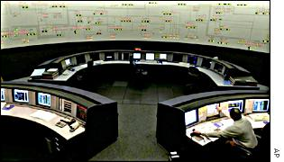 Control room at Southern California Edison