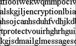 encryption can protect mail messages