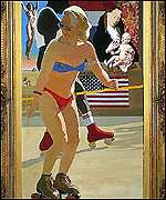 Peter Blake - Madonna of Venice Beach